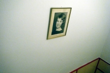portrait at stairwell, c-print on Hahnemühle