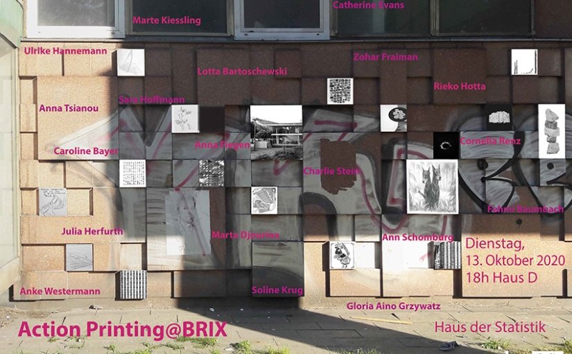 Pop Up-Ausstellung: ActionPrinting@BRIX